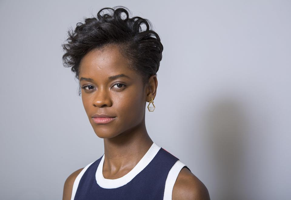 <p>Letitia Wright</p> (Willy Sanjuan/Invision/AP)