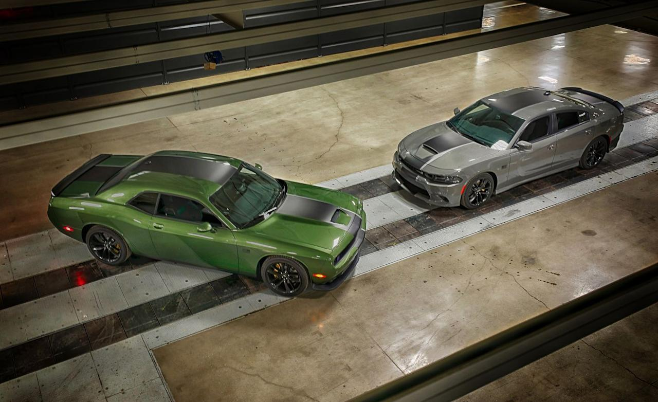 Photos of the Dodge Challenger and Charger Stars and Stripes Editions