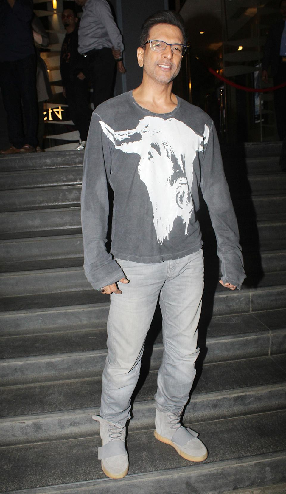 Javed Jaffery was also spotted at the screening.