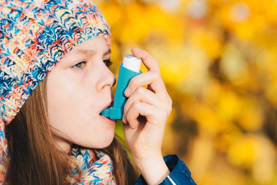 Millions could be at risk of a life-threatening asthma attack this Bonfire Night. [Photo: Getty]