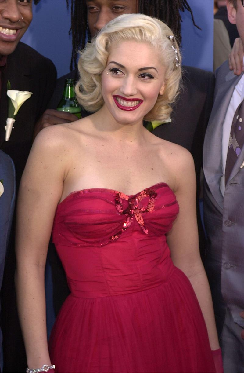 At the 43rd annual Grammy Awards on Feb. 21, 2001 in Los Angeles, CA.