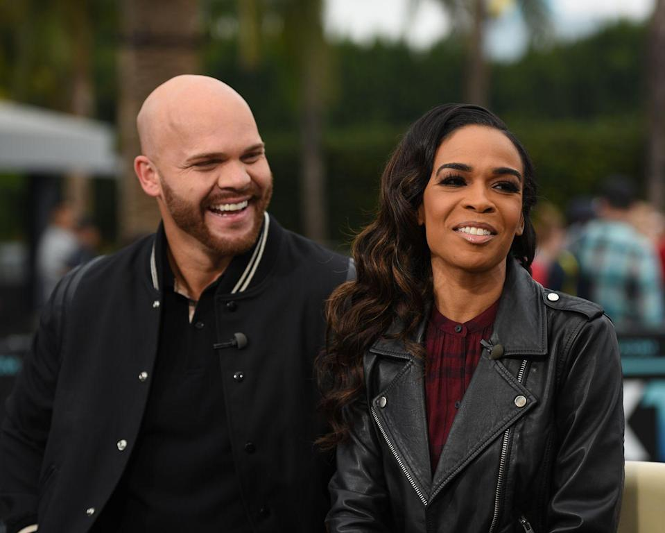 """<p>The former Destiny's Child member and her pastor fiancé <a href=""""https://people.com/music/michelle-williams-chad-johnson-relationship-timeline/"""" rel=""""nofollow noopener"""" target=""""_blank"""" data-ylk=""""slk:reportedly"""" class=""""link rapid-noclick-resp"""">reportedly</a> met in 2017 at a spiritual retreat run by Johnson. They <a href=""""https://people.com/music/michelle-williams-destinys-child-engaged-pastor-chad-johnson/"""" rel=""""nofollow noopener"""" target=""""_blank"""" data-ylk=""""slk:got engaged in April"""" class=""""link rapid-noclick-resp"""">got engaged in April</a> of the following year and were on-and-off until December 2018, when they <a href=""""https://people.com/music/michelle-williams-chad-johnson-relationship-timeline/"""" rel=""""nofollow noopener"""" target=""""_blank"""" data-ylk=""""slk:definitively called it quits"""" class=""""link rapid-noclick-resp"""">definitively called it quits</a>.</p>"""