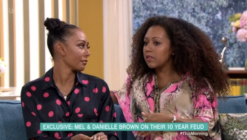 Mel B said she did a lot of apologising to her mum and sister after claiming her ex-husband kept them apart (ITV)