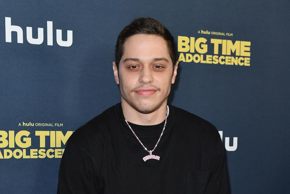 """Pete Davidson attends the premiere of Hulu's """"Big Time Adolescence"""" on March 5, 2020. (Photo by Angela Weiss/AFP via Getty Images)"""