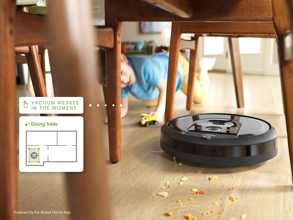 iRobots Genius Home Intelligence gives people more control over how, when and where Roomba cleans. Credit: Jeff Tilford/iRobot