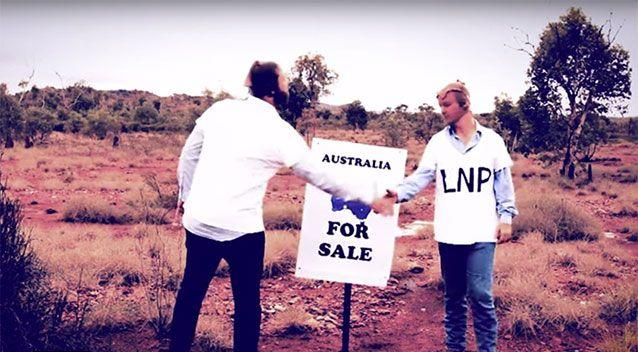 Australia is for sale. Source: Katter Australia Party