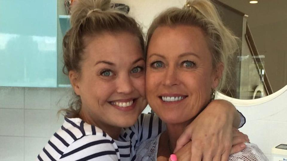Lisa Curry and daughter Jaimi Kenny