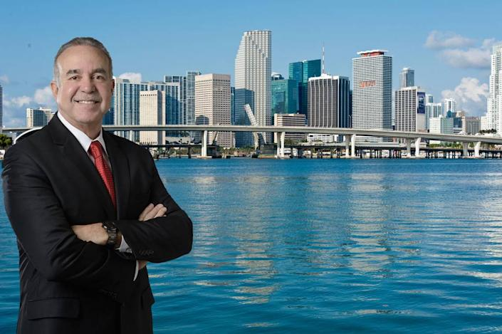 """Rafael """"Ralph"""" Suarez is one of four candidates running to represent District 7 as a member of the Miami-Dade County Commission."""