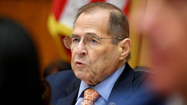 PHOTO: Chairman of the House Judiciary Committee,Rep. Jerry Nadler, speaks during a hearing where former White House lawyer Don McGhan is expected to testify on the Mueller report, on Capitol Hill in Washington, D.C., May 21, 2019. (Mandel Ngan/AFP/Getty Images)