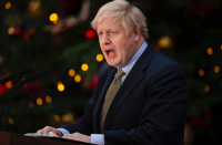 """It has been a remarkable year for <a href=""""https://uk.news.yahoo.com/tagged/boris-johnson/"""" data-ylk=""""slk:Boris Johnson"""" class=""""link rapid-noclick-resp""""><strong>Boris Johnson</strong></a> - few believed he had much chance of power at the start of 2019 but Mrs May's resignation paved the way for his ascent to Prime Minister. His strong stance on Brexit resulted in him landing a landslide election victory, putting him in Downing Street for at least the next five years. (Getty)"""