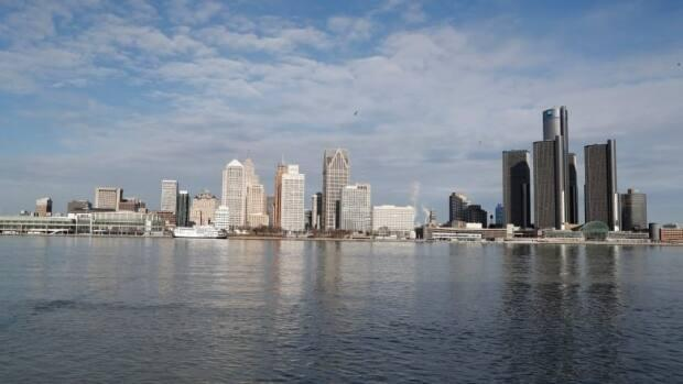 The Detroit skyline is seen in a 2019 photo.  (Carlos Osorio/The Associated Press - image credit)