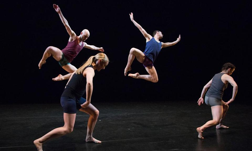 The Yorke Dance Project performing Cohan's Lingua Franca in London in 2015.