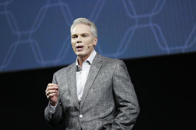 Intuit CEO Brad Smith at the fourth-annual QuickBooks Connect conference in San Jose, Calif. Source: Adm Golub/AP Images for Intuit QuickBooks