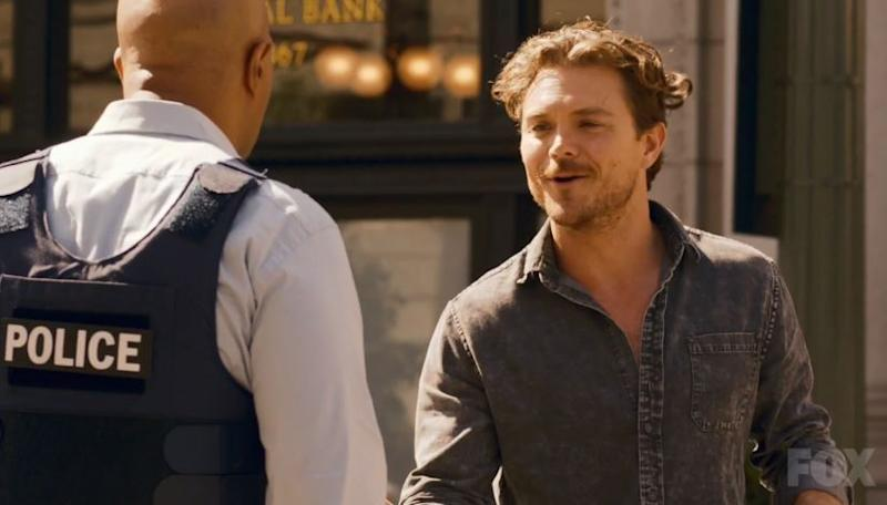 Damon Wayans, left, and Clayne Crawford in Fox's