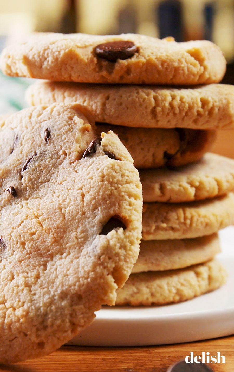 """<p>The toughest part about keto-friendly recipes is figuring out low-carb, sugar-free desserts. This chocolate chip cookie recipe will save you.</p><p>Get the recipe from <a href=""""https://www.delish.com/cooking/recipe-ideas/a25752891/keto-chocolate-chip-cookie-recipe/"""" rel=""""nofollow noopener"""" target=""""_blank"""" data-ylk=""""slk:Delish"""" class=""""link rapid-noclick-resp"""">Delish</a>.</p>"""