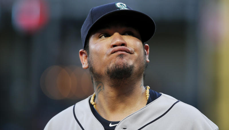 Felix Hernandez is headed to the Seattle Mariners bullpen. (AP)