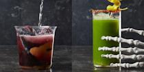 "<p>Some say Halloween is all about the candy, but personally, we're more partial to a glass of witch's brew. Pick your poison this <a href=""https://www.goodhousekeeping.com/holidays/halloween-ideas/"" rel=""nofollow noopener"" target=""_blank"" data-ylk=""slk:Halloween"" class=""link rapid-noclick-resp"">Halloween</a> with one of these scary-delicious cocktails or non-alcoholic drinks. For the adults, choose between rum, tequila, or vodka cocktails. Since you don't want your little goblins to miss out on the holiday fun, throw together a fizzy, fruity, or creamy mocktail for the kids at your <a href=""https://www.goodhousekeeping.com/holidays/halloween-ideas/g565/halloween-party-ideas/"" rel=""nofollow noopener"" target=""_blank"" data-ylk=""slk:Halloween party"" class=""link rapid-noclick-resp"">Halloween party</a>. No need to be a pro bartender to take on these recipes, all of these Halloween drinks are extremely easy to make and best of all, even<em> easier</em> to drink. That's what makes 'em dangerously good, don't ya think?<br></p><p>Once you figure out which potion, brew, or punch you're going to make, finalize your party menu with these <a href=""https://www.goodhousekeeping.com/holidays/halloween-ideas/g3727/halloween-appetizer-recipes/"" rel=""nofollow noopener"" target=""_blank"" data-ylk=""slk:Halloween appetizer"" class=""link rapid-noclick-resp"">Halloween appetizer</a> and <a href=""https://www.goodhousekeeping.com/holidays/halloween-ideas/g1394/halloween-party-snacks/"" rel=""nofollow noopener"" target=""_blank"" data-ylk=""slk:Halloween party snack ideas"" class=""link rapid-noclick-resp"">Halloween party snack ideas</a>. And hey, even though these sugar-filled drinks taste like a treat, that doesn't mean that you shouldn't cap off the eeriest night of the year with <a href=""https://www.goodhousekeeping.com/holidays/halloween-ideas/g2711/halloween-cupcakes/"" rel=""nofollow noopener"" target=""_blank"" data-ylk=""slk:Halloween cupcakes"" class=""link rapid-noclick-resp"">Halloween cupcakes</a>, <a href=""https://www.goodhousekeeping.com/holidays/halloween-ideas/g3676/easy-halloween-cookie-recipes/"" rel=""nofollow noopener"" target=""_blank"" data-ylk=""slk:Halloween cookies"" class=""link rapid-noclick-resp"">Halloween cookies</a>, <a href=""https://www.goodhousekeeping.com/holidays/halloween-ideas/g2700/halloween-cakes/"" rel=""nofollow noopener"" target=""_blank"" data-ylk=""slk:Halloween cakes"" class=""link rapid-noclick-resp"">Halloween cakes</a>, and other party-ready desserts. </p>"