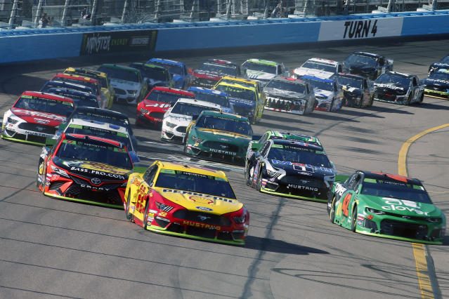 ISM Connect's sponsorship of Phoenix Raceway lasted just two seasons. (AP Photo/Ralph Freso)