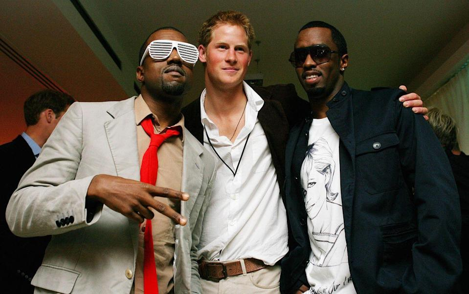 <p>Important reminder that P Diddy literally owns Bad Boy Records, so that's really all the information you need about whether or not Harry is, in fact, a bad-boy. (Also this photo of the trio in 2007 is completely iconic, so go ahead and print it/frame it.)</p>