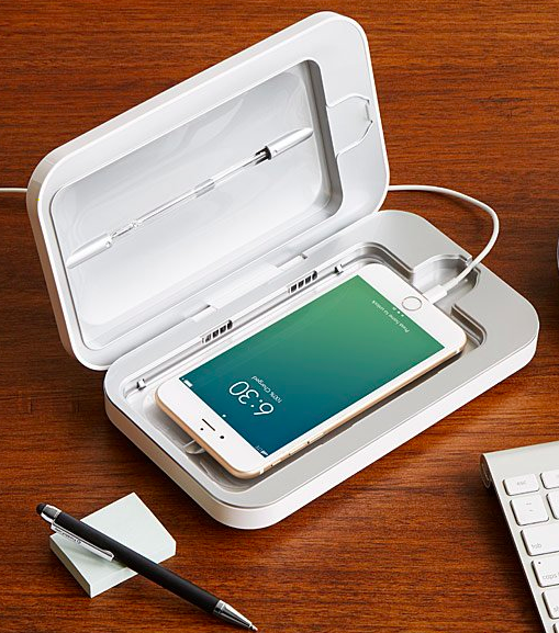 PhoneSoap smartphone sanitiser, S$110.61. PHOTO: Uncommon Goods