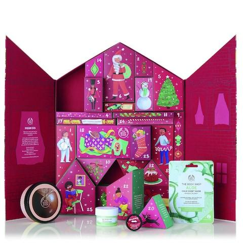 The Body Shop Deluxe Advent Calendar - Credit: The Body Shop