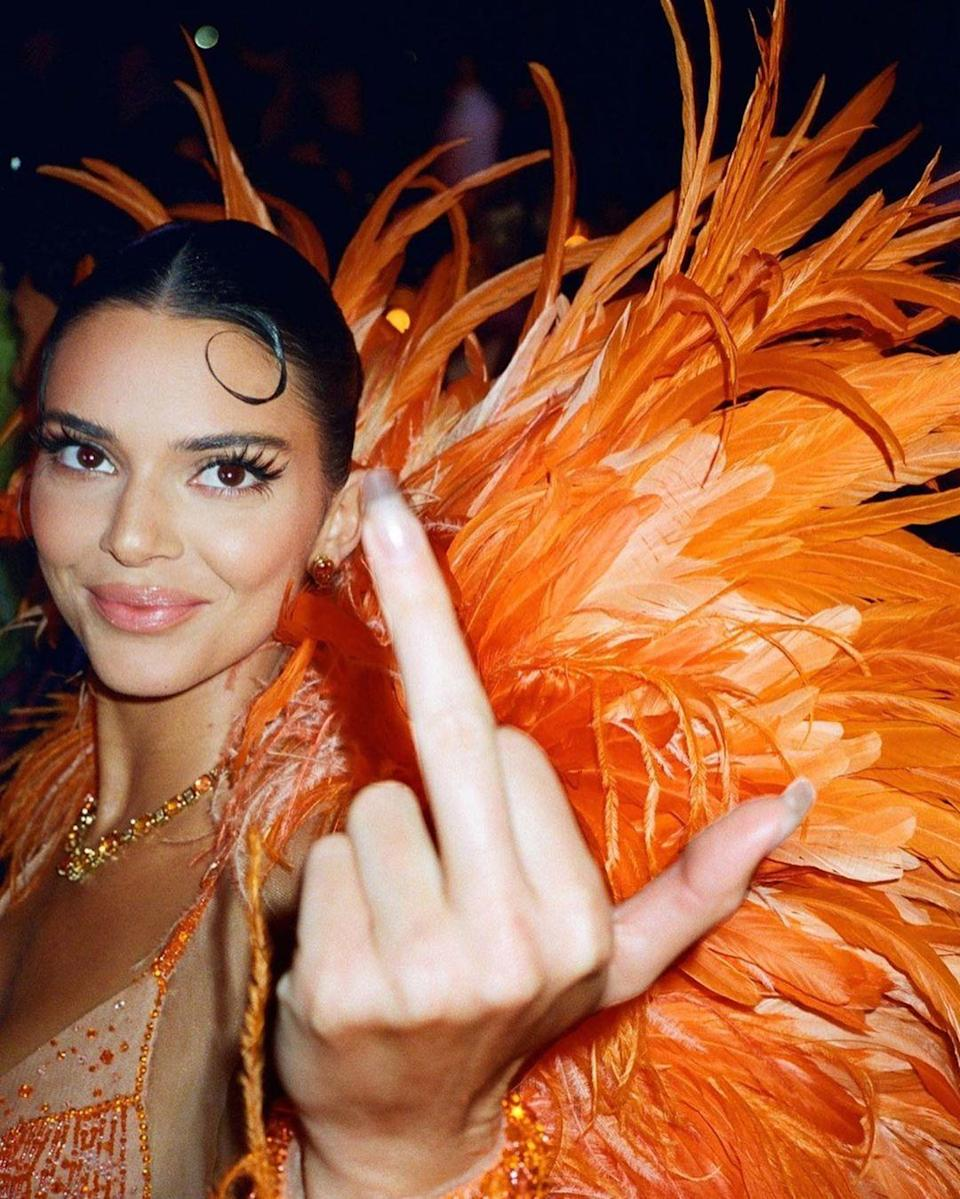 """<p>Kylie dropped this news while talking to <a href=""""https://www.elle.com/culture/celebrities/news/a44576/kendall-kylie-dating-advice-coachella/"""" rel=""""nofollow noopener"""" target=""""_blank"""" data-ylk=""""slk:Elle"""" class=""""link rapid-noclick-resp""""><em>Elle</em></a>, saying, """"I get them done once a week, which isn't normal."""" Meanwhile, Kendall added, """"[Kris] would have a nail artist come to the house once a week and she would make us get our nails done. She was like, 'You are never going to look like you're not put together.' So we were always getting them done.""""</p>"""