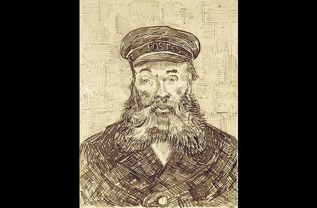 """""""Portrait of Joseph Roulin"""" by Vincent van Gogh, $58 million plus exchange of 4 paintings by  Monet, Renoir, Kandinsky and Picasso."""
