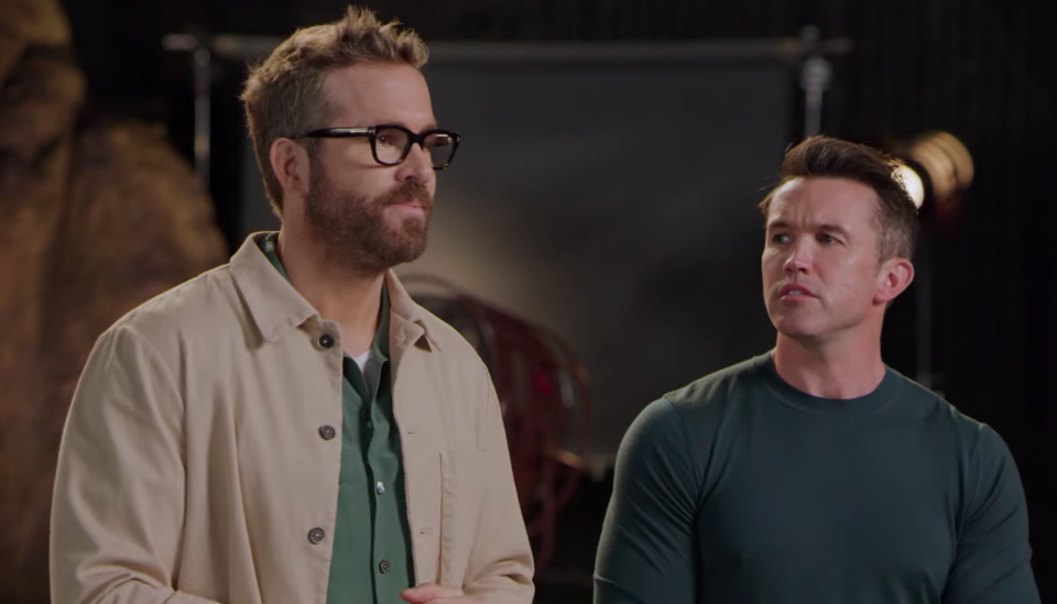 Ryan Reynolds and Rob McElhenney will star in a new reality show about Wrexham FC (YouTube)
