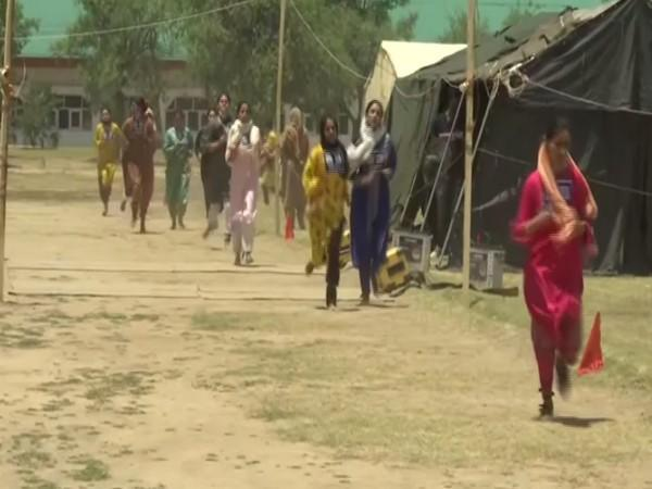 Many women candidates participated in the race, which was a part of the recruitment process (Photo/ANI)