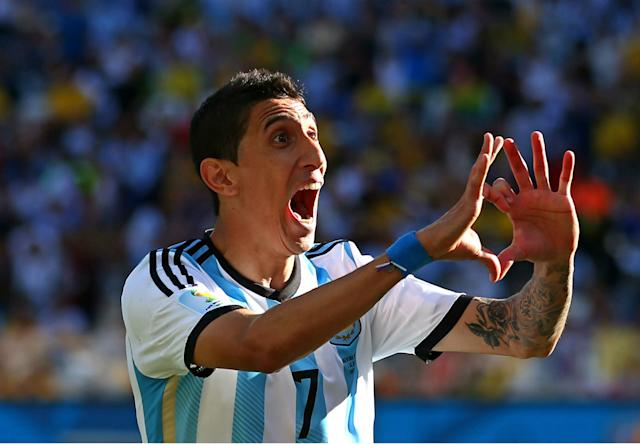 Angel Di Maria | Argentina v Switzerland | World Cup 2014