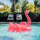 <p>Bring the pink vibes to your home with this <span>Funboy Pink Glitter Flamingo Pool Float</span> ($79).</p>