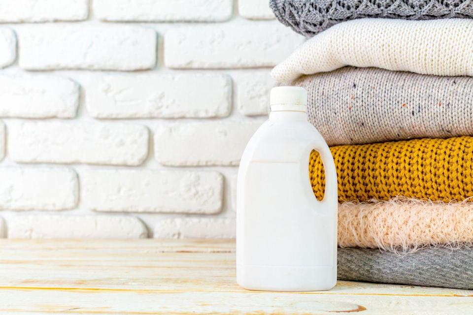 "<p>Swap clean clothes for single-arm cleans using a bottle of your laundry detergent (as long as it has a handle). Or perform a <a href=""https://www.runnersworld.com/training/a20847730/crossfit-for-runners-kettlebell-swings/"" rel=""nofollow noopener"" target=""_blank"" data-ylk=""slk:kettlebell swing"" class=""link rapid-noclick-resp"">kettlebell swing</a>, making sure to squeeze your <a href=""https://www.runnersworld.com/training/a20802578/glute-strengthening-workout/"" rel=""nofollow noopener"" target=""_blank"" data-ylk=""slk:glutes"" class=""link rapid-noclick-resp"">glutes</a> at the top of each movement.</p>"