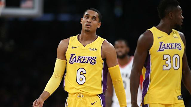 """The Lakers would reportedly """"love"""" to trade Jordan Clarkson and Julius Randle, but will they move the youngsters before the February deadline?"""