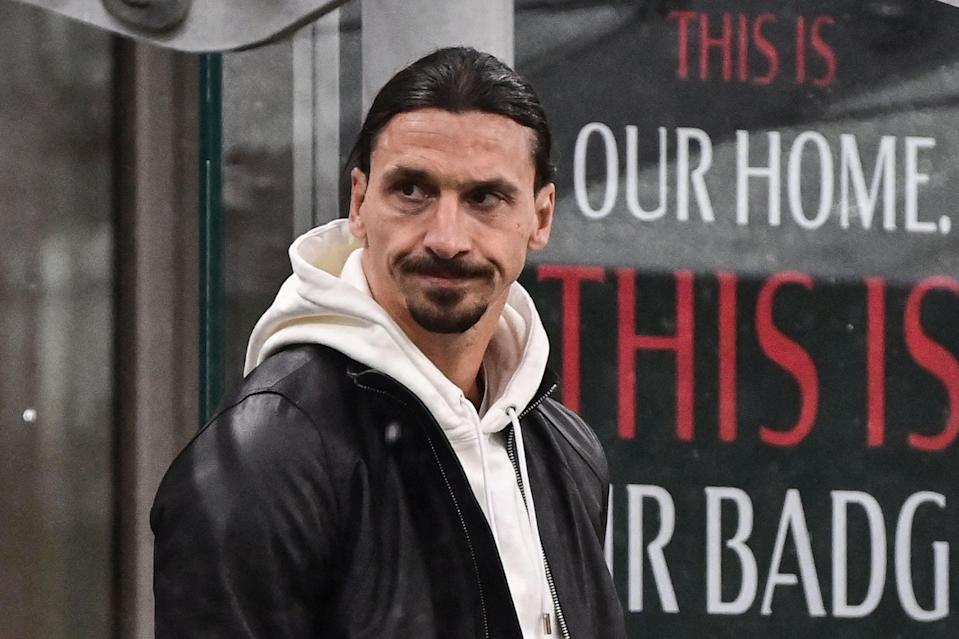 <p>AC Milan and Sweden star Zlatan Ibrahimovic is under investigation by Uefa</p> (AFP via Getty Images)