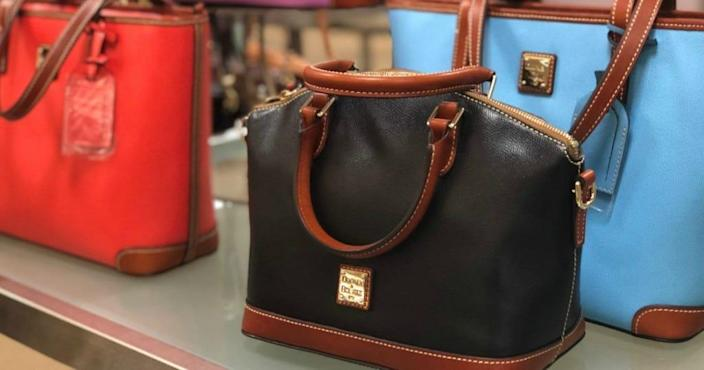Dooney & Bourke's best-selling leather bags are more than half off—but not for long.