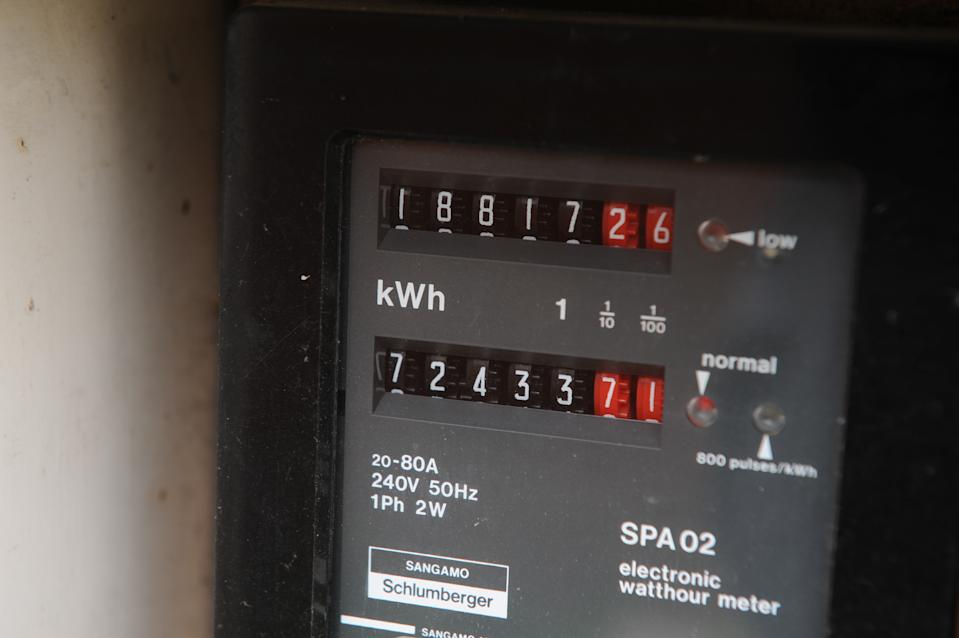 A domestic household electricity meter. Photo: Nick Ansell/PA Wire/PA Images