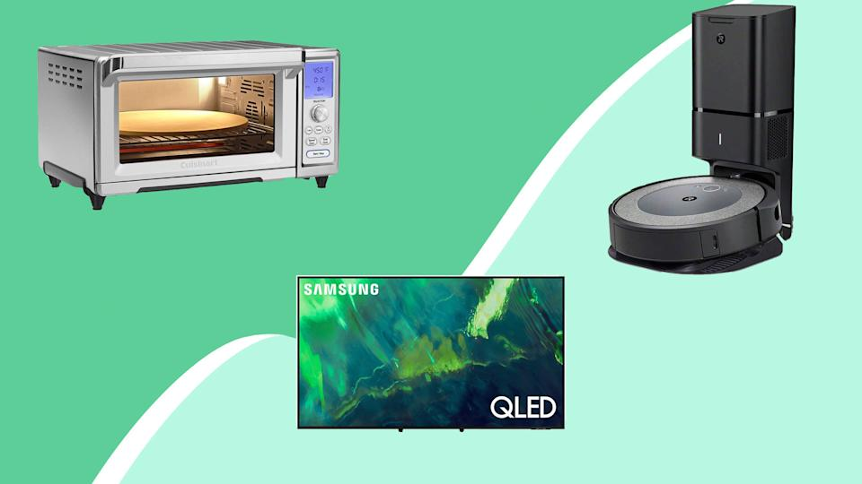 Kick off your weekend with Amazon deals on kitchen ovens, robot vacuums and more.