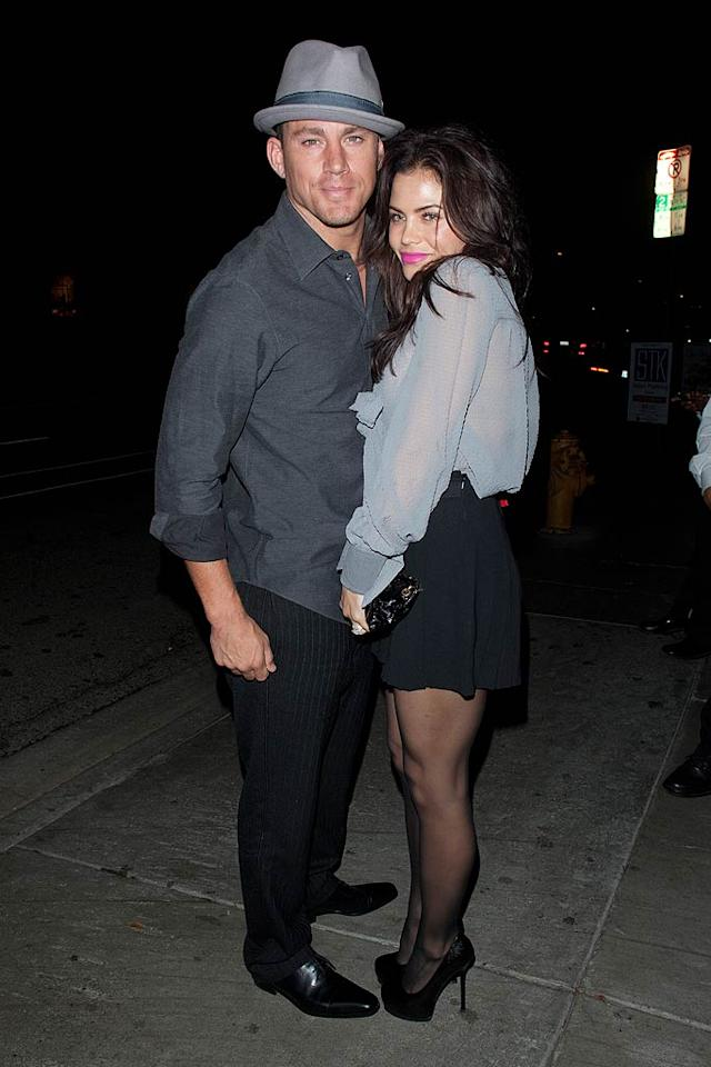 Speaking of STK, married couple Channing Tatum and Jenna Dewan were spotted there on Wednesday, having a romantic dinner. (10/20/11)