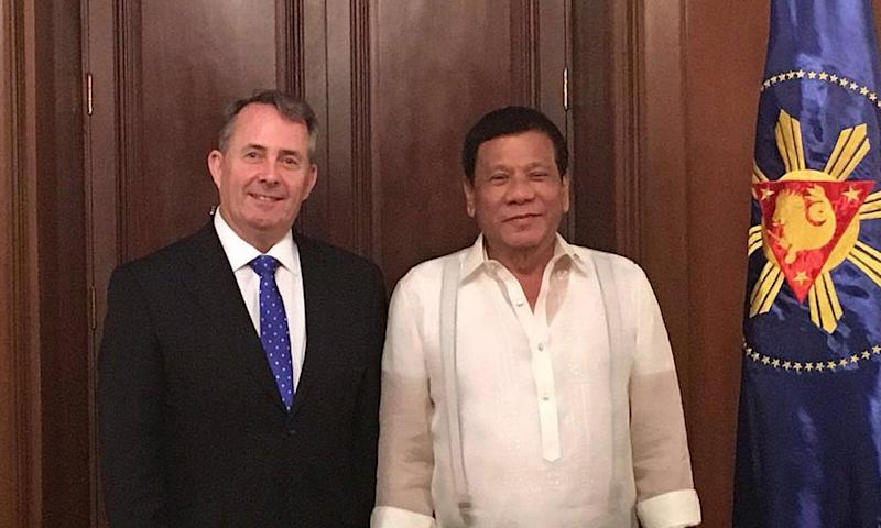 Liam Fox and Rodrigo Duterte
