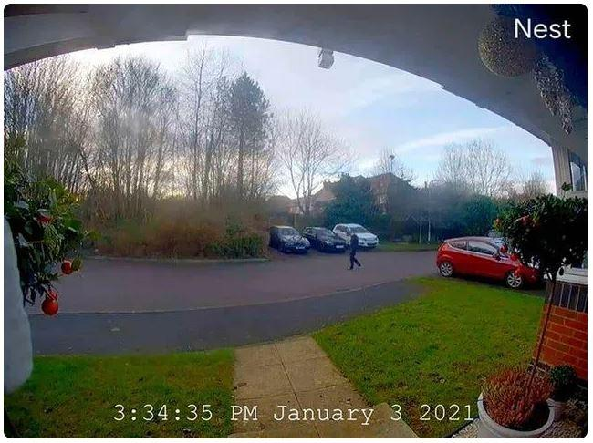 CCTV image of Olly Stephens walking in Emmer Green (Thames Valley Police/PA)