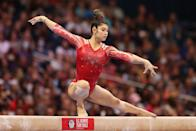 """<p>DiCello, from Boyds, MD, is committed to the University of Florida, where she is set to compete on the <a href=""""http://gatorswire.usatoday.com/2021/06/28/florida-gymnastics-team-usa-leanne-wong-kayla-dicello-tokyo-olympics/"""" class=""""link rapid-noclick-resp"""" rel=""""nofollow noopener"""" target=""""_blank"""" data-ylk=""""slk:Gators' collegiate gymnastics team"""">Gators' collegiate gymnastics team</a>. Earlier this year, she won a <a href=""""http://usagym.org/pages/athletes/athleteListDetail.html?id=458012"""" class=""""link rapid-noclick-resp"""" rel=""""nofollow noopener"""" target=""""_blank"""" data-ylk=""""slk:silver medal on floor at 2021 Nationals"""">silver medal on floor at 2021 Nationals</a> and gold and bronze for her all-around and floor performances respectively at the 2021 GK US Classic. DiCello, 17, was also on the first-ever <a href=""""http://www.flogymnastics.com/articles/6517615-usas-2019-junior-world-championships-team"""" class=""""link rapid-noclick-resp"""" rel=""""nofollow noopener"""" target=""""_blank"""" data-ylk=""""slk:Junior World Championships"""">Junior World Championships</a> women's artistic gymnastics team for the US in 2019 and won <a href=""""http://twitter.com/USAGym/status/1160649845851295744?s=20"""" class=""""link rapid-noclick-resp"""" rel=""""nofollow noopener"""" target=""""_blank"""" data-ylk=""""slk:Nationals on the junior level"""">Nationals on the junior level</a> that same year.</p> <p><strong>Follow Kayla DiCello on Instagram:</strong> <a href=""""http://www.instagram.com/kayladicello/"""" class=""""link rapid-noclick-resp"""" rel=""""nofollow noopener"""" target=""""_blank"""" data-ylk=""""slk:@kayladicello"""">@kayladicello</a></p> <p><strong>Follow Kayla DiCello on Twitter:</strong> <a href=""""http://twitter.com/kayladicello"""" class=""""link rapid-noclick-resp"""" rel=""""nofollow noopener"""" target=""""_blank"""" data-ylk=""""slk:@kayladicello"""">@kayladicello</a></p> <p><strong>Follow Kayla DiCello on TikTok:</strong> <a href=""""https://www.tiktok.com/@kayladicello?"""" class=""""link rapid-noclick-resp"""" rel=""""nofollow noopener"""" target=""""_blank"""" data-ylk=""""slk:@kayladicello"""">@kay"""