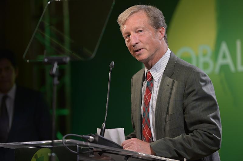 SANTA MONICA, CA - JUNE 08:  Tom Steyer speaks at Global Green USA's Annual Millennium Awards at Fairmont Miramar Hotel on June 8, 2013 in Santa Monica, California.  (Photo by Charley Gallay/Getty Images for Global Green)
