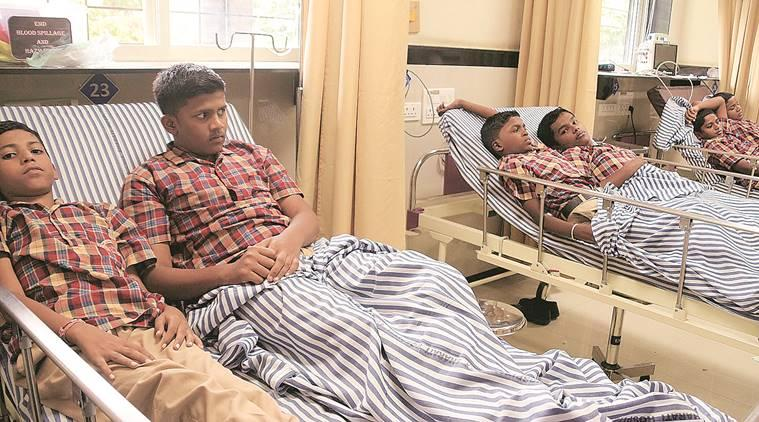 Pune mid day meals, katraj mid day meals, mid day meal food poisoning, Pune news