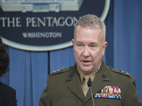 US Central Command (CENTCOM) Chief General Kenneth McKenzie (File Photo)