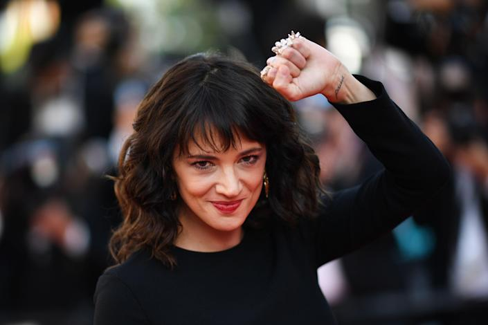 Argento has been a prominent voice of the #MeToo movement following her revelations about Harvey Weinstein. (Photo: Loic Venance/AFP/Getty Images)