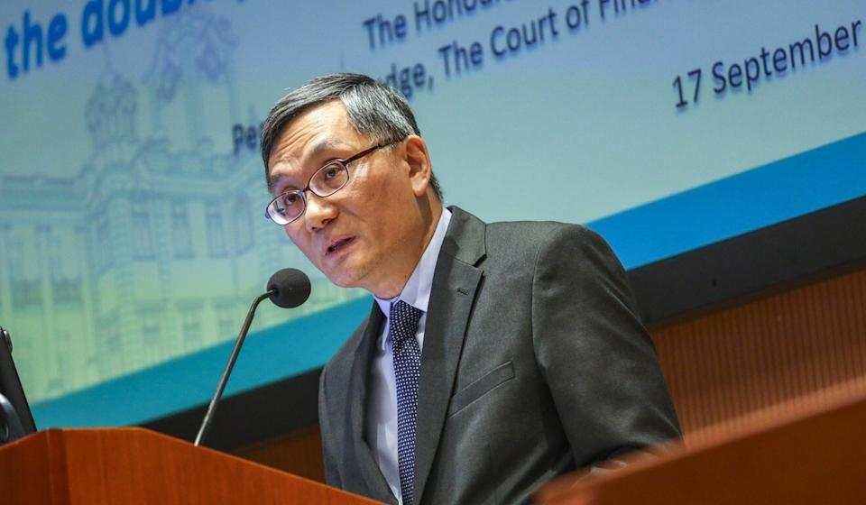Justice Andrew Cheung, who will succeed Geoffrey Ma as chief justice. Photo: May Tse