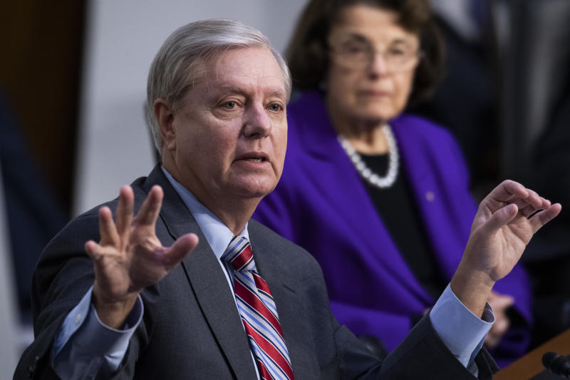 Lindsey Graham and Dianne Feinstein