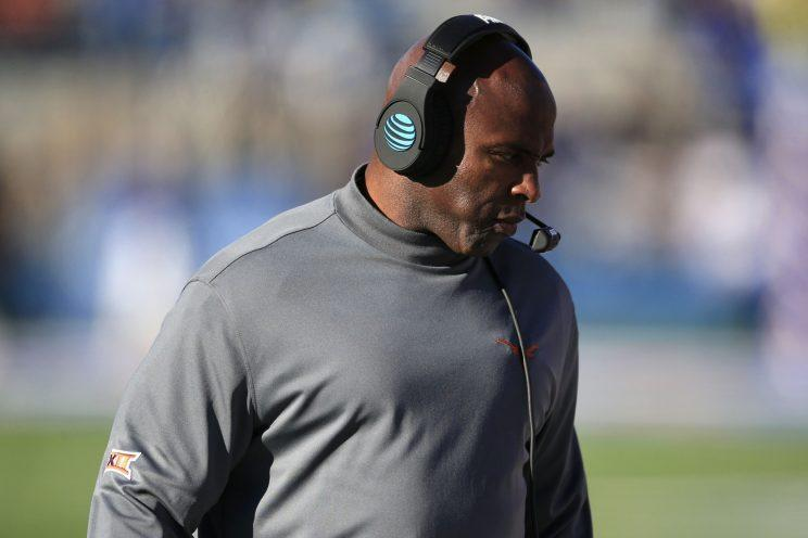 Charlie Strong is 16-20 in three seasons at Texas. (AP)