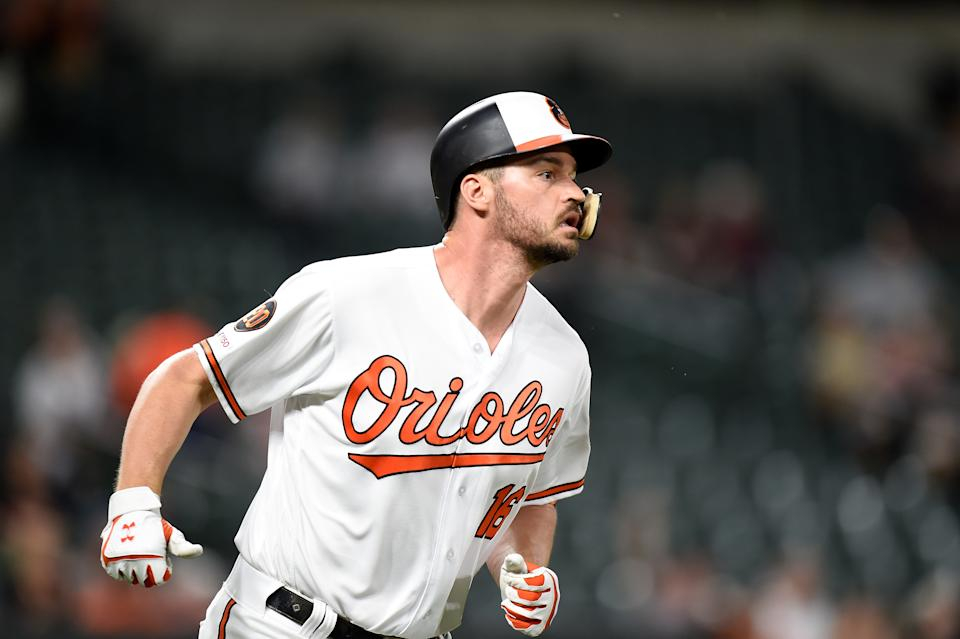 Orioles' slugger Trey Mancini is battling colon cancer. (Photo by G Fiume/Getty Images)