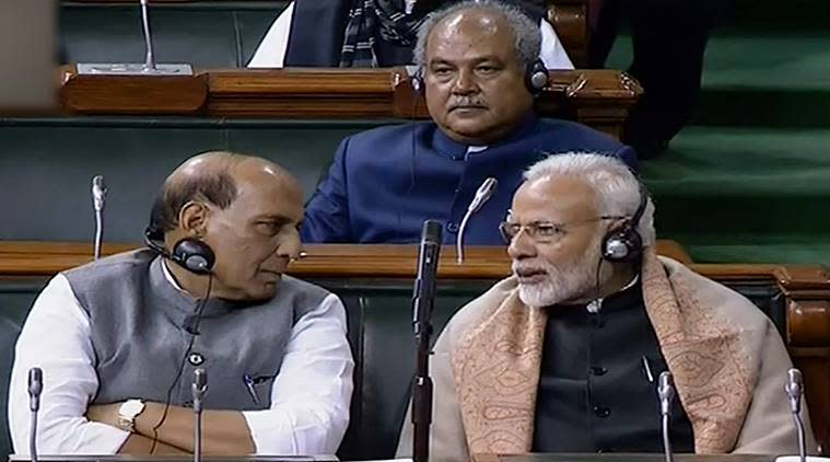 Lok Sabha, quota bill passed in lok sabha, bjp 10% quota bill, Constitution Amendment Bill, 10 per cent reservation to economically weaker sections, Thaawarchand Gehlot, BJP, India news, Indian Express